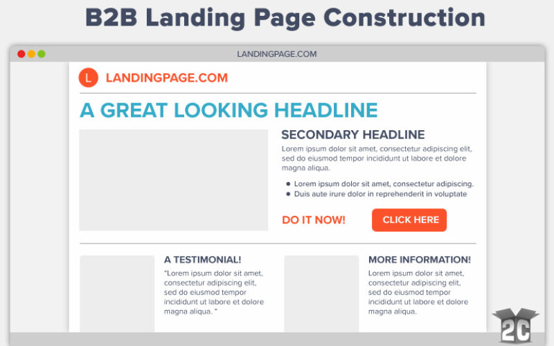 B2B Landing Page Construction